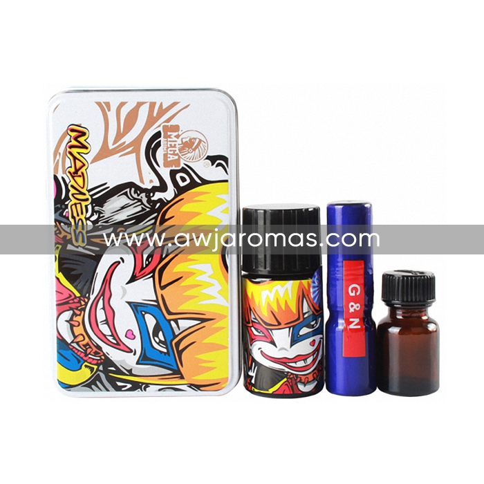 40ML Iron Box Madness white Leather Cleaners